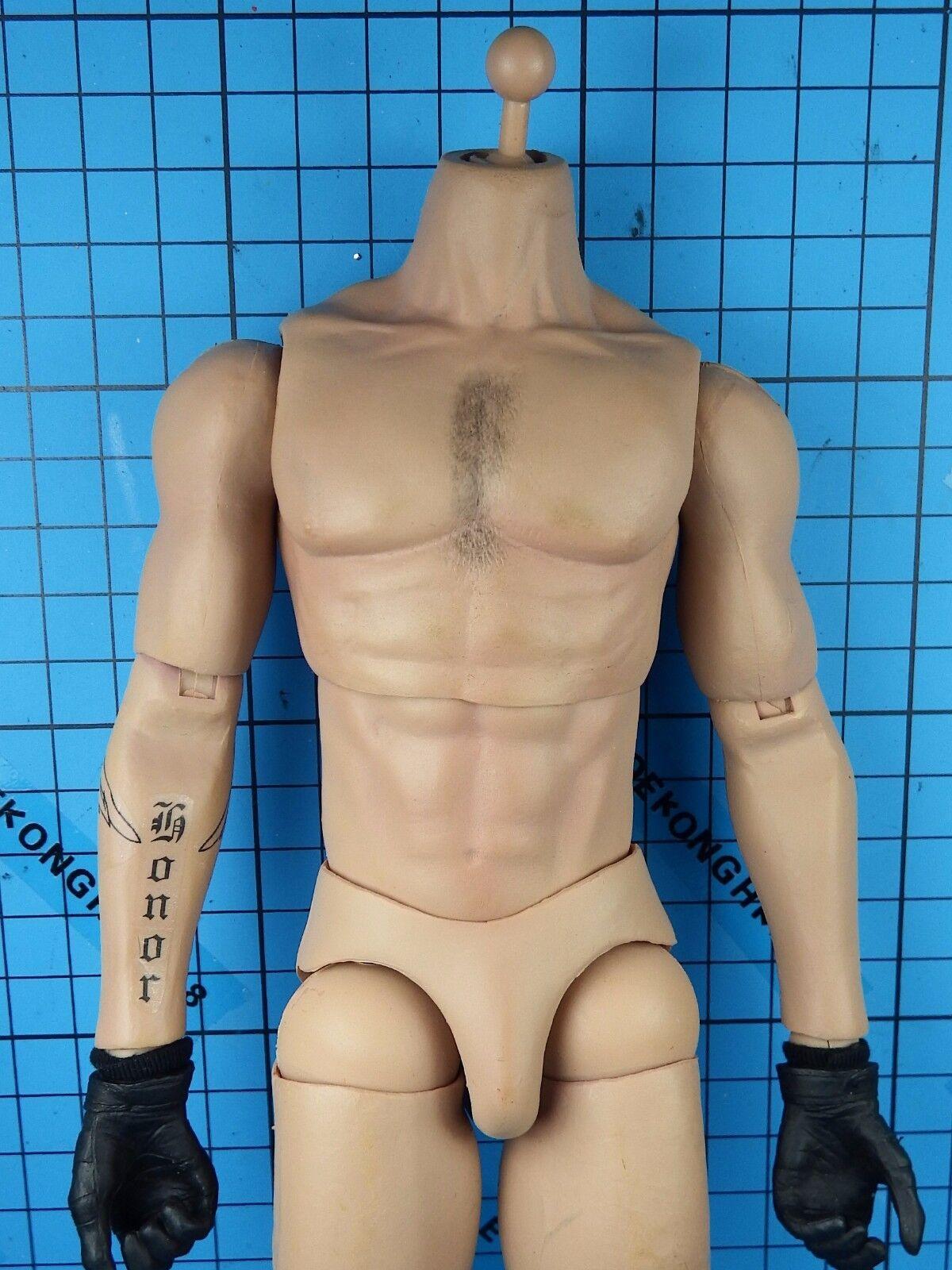Flagset bis 6 fs-73003 der maskierte söldner bild - tattoo muskulösen körper + palmen