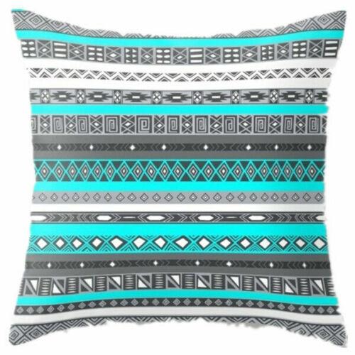 Bohemian Geometric 18inch Cotton Linen Pillow Case Cushion Cover Home Sofa Decor