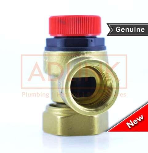 "Albion inoxydable Tuyau Cylindre soupape de sûreté SU005 3//4 /""q.s.p. 1 // 2/"""