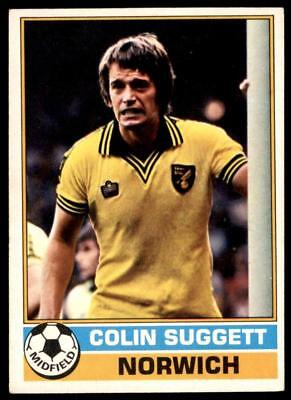 -#138- NORWICH COLIN SULLIVAN TOPPS-FOOTBALL RED BACK 1977