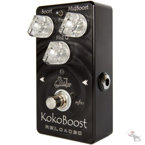 Suhr Koko Reloaded Clean Mid Boost Guitar Effect FX Stompbox Pedal