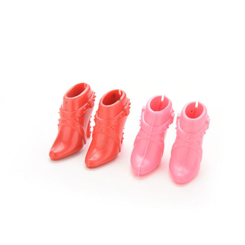 10 Pairs Party Doll/'s Shoes Short Boots For  Doll Best Color Random FJ