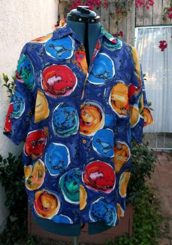 Kansai Yamamoto David Bowie colors ZING! VTG shirt