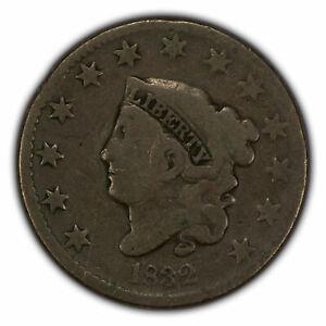 1832 1c Coronet Head Large Cent SKU-X1560