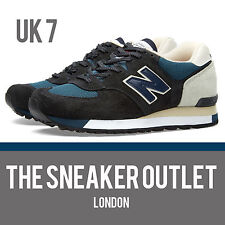 Men's New Balance 575 SNG UK Size 7 Blue Suede Trainers Made in England 1500