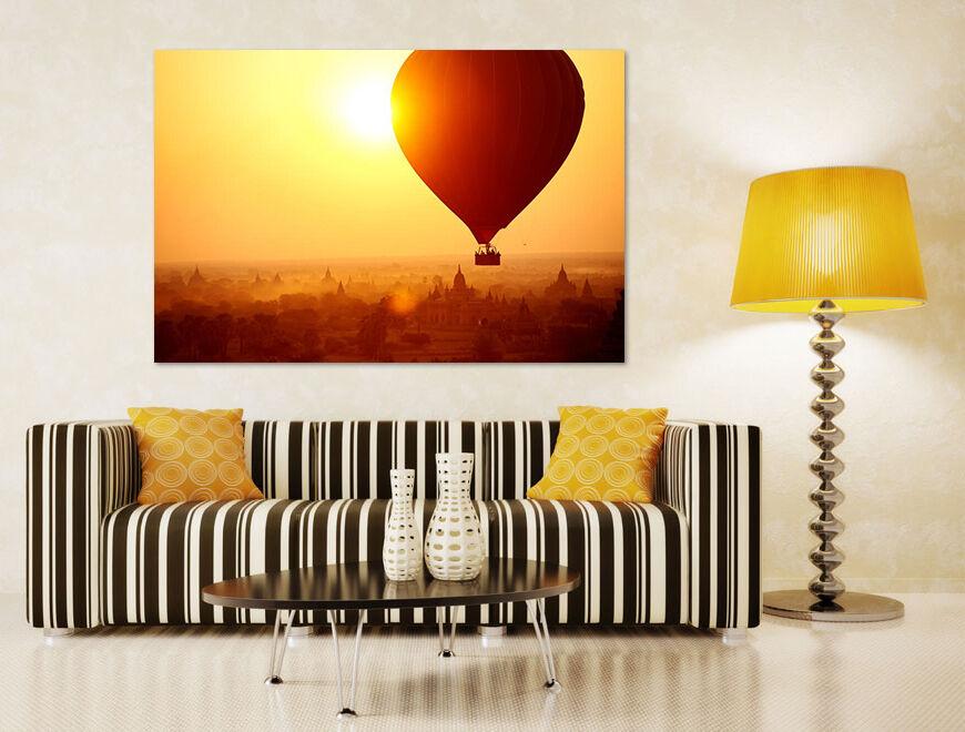 3D 3D 3D Sonne Heißluft-Ballon 7214  Fototapeten Wandbild BildTapete AJSTORE DE Lemon   Sonderaktionen zum Jahresende    Sonderaktionen zum Jahresende    Erlesene Materialien  5a71c9