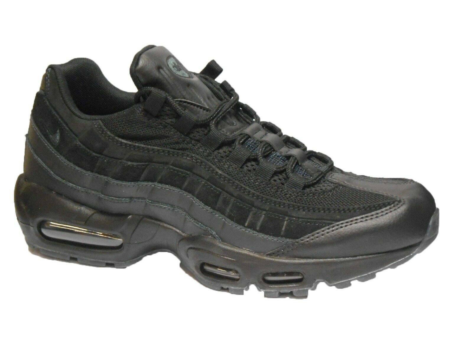 Nike Air Max 95 Essential Mens Running Trainer shoes Size 8 9 10 Black
