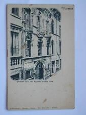 VICENZA palazzo Liceo Pigafetta o della Luna vecchia cartolina