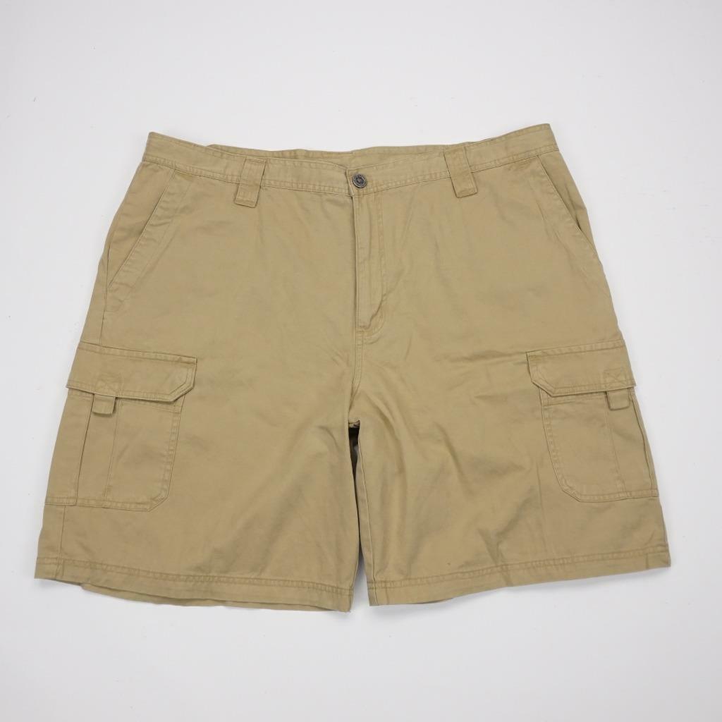 COLUMBIA Cargo Hiking Fishing Shorts Khaki Mens 44x9