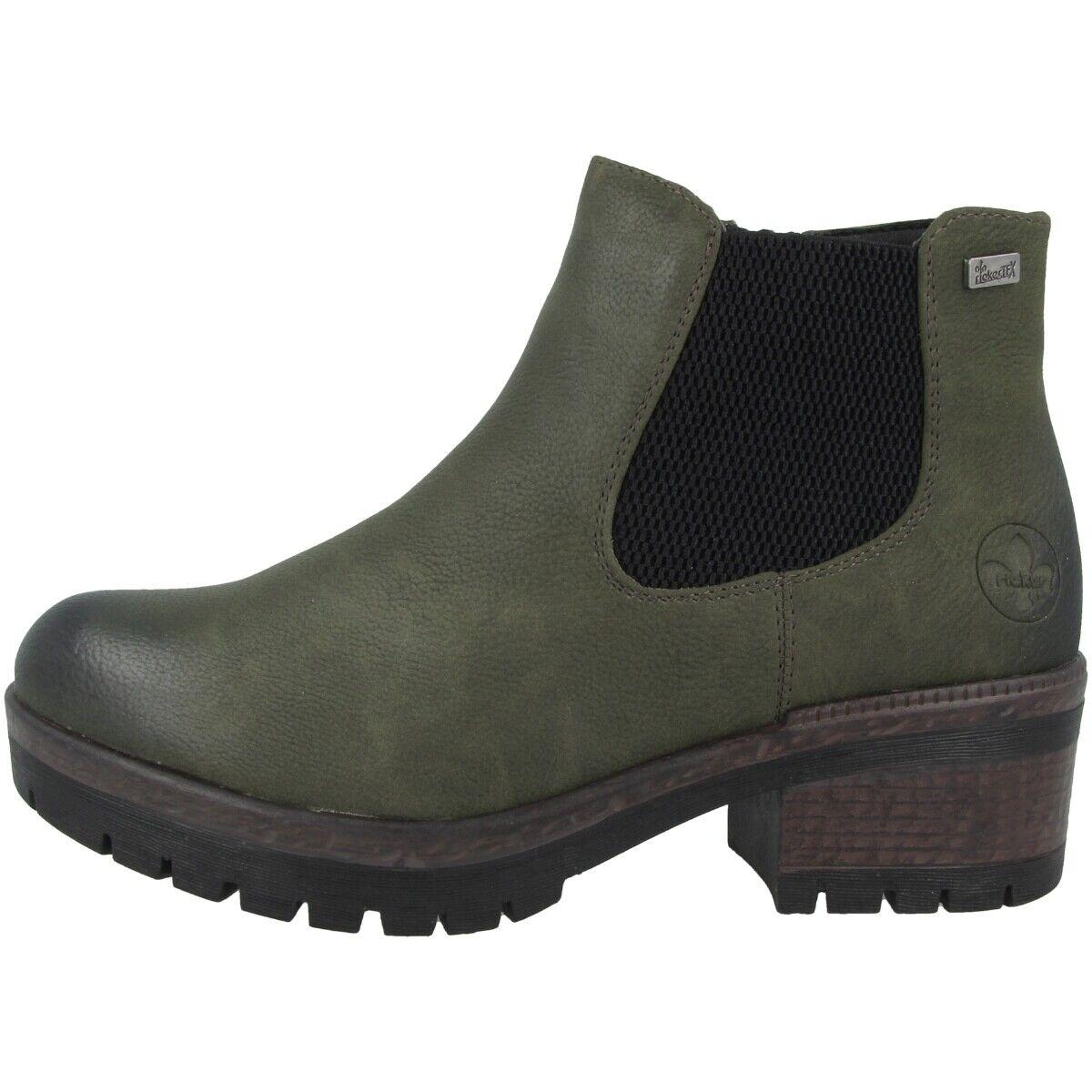 Rieker Morbido Schuhe Damänner Ankle Stiefel Antistress Stiefelette fir 95290-54