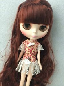 12 Neo nude Blythe Doll from factory long Red hair, Super