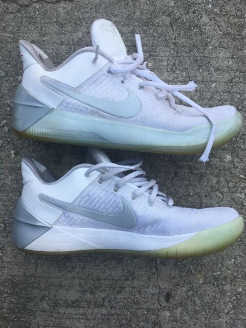 detailed look 9c7cc ee860 Nike 852425-110 Kobe AD Chrome White Mens Low Top Baskteball Shoes Size 10