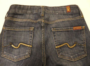 vita P131 Jeans Womens taglia originale For 7 28 Mankind All FqS0qR
