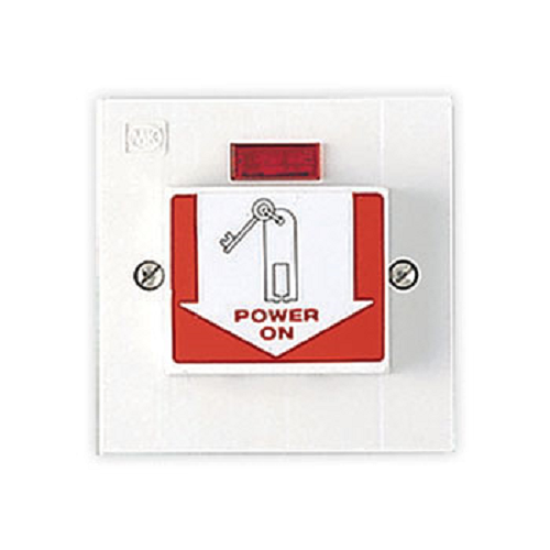 MK 4724 WHI 20A DP Energy Saving Switch with Keytag inc - White New