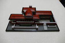 Lego architecture 21010 Robie house replica all new bricks including nameplate