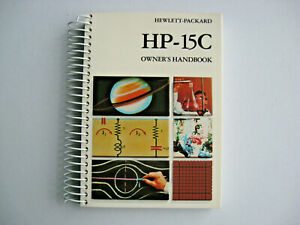 Spiral-Owner-039-s-Manual-Handbook-for-HP-Hewlett-Packard-HP-15c-calculator