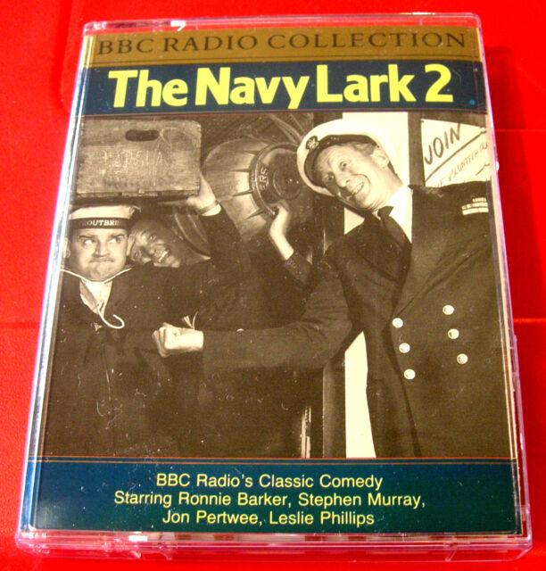 Navy Lark #2 2-Tape Audio Leslie Phillips/Jon Pertwee/Ronnie Barker/S.Murray