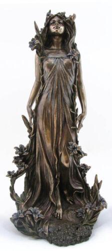 Frauenfigur Jugendstil Alfons Mucha Nymphe Veronese Figur Belle Epoque Statue