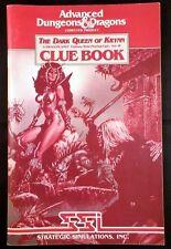 AD&D SSI Dark Queen of Krynn - Clue Book (rare)