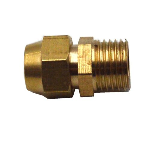Mulitple Flare Tube OD 6-19mm BSP Male Brass Connector Tube Pneumatic Fitting