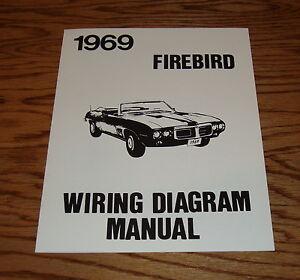 1969 pontiac firebird wiring diagram manual 69 ebay 1992 pontiac firebird wiring diagram image is loading 1969 pontiac firebird wiring diagram manual 69