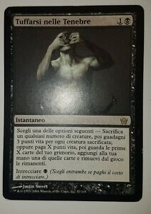 4 Plunge into Darkness = Black Fifth Dawn Mtg Magic Rare 4x x4