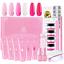 Makartt-Poly-Nail-Extension-Gel-Kit-Pink-Nail-Enhancement-Builder-Gel-with-Slip thumbnail 1