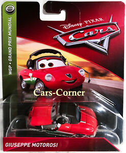 Disney-Pixar-Cars-2-Guiseppe-Motorosi-Team-Chef-von-Francesco-Bernoulli-NEU