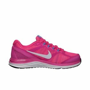 Details about Nike Womens Dual Fusion Run 3 Size 4.5 6 Pink Running Shoes Trainers Get show original title