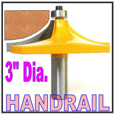 "1 pc 1/2"" Shank Handrail, Table Edge B Router Bit  sct-888"