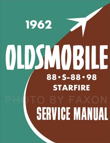 1962 Oldsmobile 88 98 Shop Manuell Supp Olds Dynamic Super ...