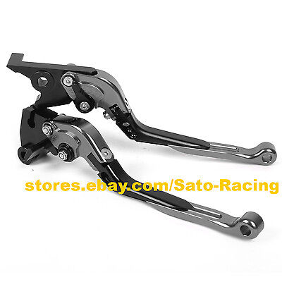 Short Brake Clutch levers for H0NDA VFR1200//F 2010-2016 2011 2012 2013 2014 2015 Grey