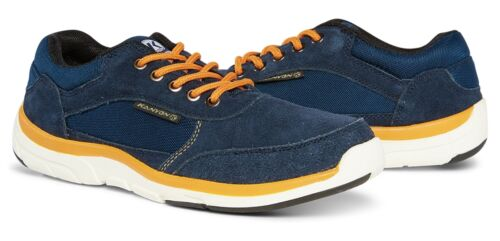 Grafham Navy Trainer Shoe Kanyon