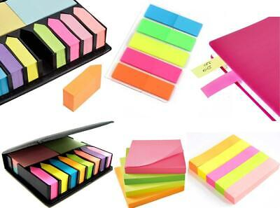 200 STICKY MEMO SHEETS NOTES SET Removable Email//Telephone Reminders//Index Tabs