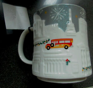 Christmas Jeepney.Details About 2016 Starbucks Manila Christmas Relief Philippines Jeepney Mug 16 Oz Brand New