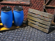 Europalette Palette Metall Bausatz Modellbau Diorama Werkstatt Garage Deko 1/18
