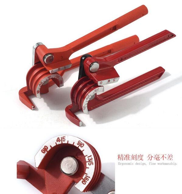 1PCS 90//180 Degree Pipe Bending Tool Heavy Duty Tube Bender Aluminum Alloy Tub