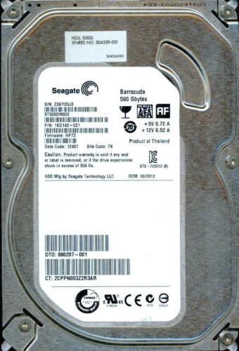 Z2AY  SEAGATE SATA 500GB 1BD142-021 TK HP73 ST500DM002