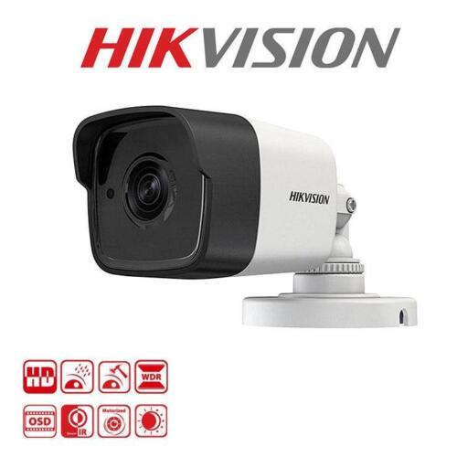 HIKVISION DS-2CE16F1T-IT 3MP 3.6mm Lens 20m IR EXIR Bullet Analog Bullet Camera