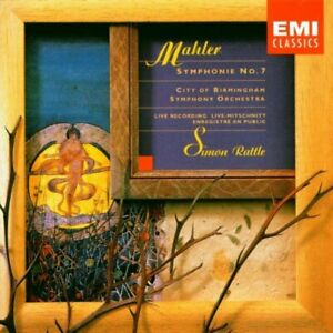 Mahler-Symphony-No-7-Rattle-CD-1992-Highly-Rated-eBay-Seller-Great-Prices