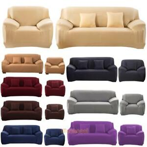 Image Is Loading Stretch Fit Couch Sofa Lounge Covers Recliner 1