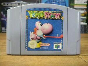 Historia Yoshis solo Carro-Nintendo 64 N64 Juego-PAL