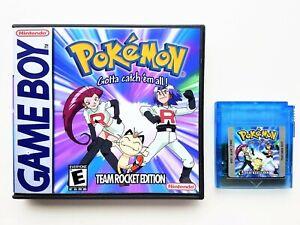 Pokemon-Team-Rocket-Game-Case-Nintendo-Game-boy-GBC-GBA-English-Fan-Made