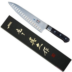 Japanese-MAC-MTH-80-Professional-Series-8-034-Chef-039-s-Knife-w-Dimples-Made-in-Japan