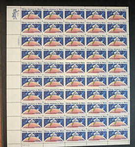 #1759 –  FULL SHEET of 50 - Viking Mission to Mars - 15 cent stamps - #38713