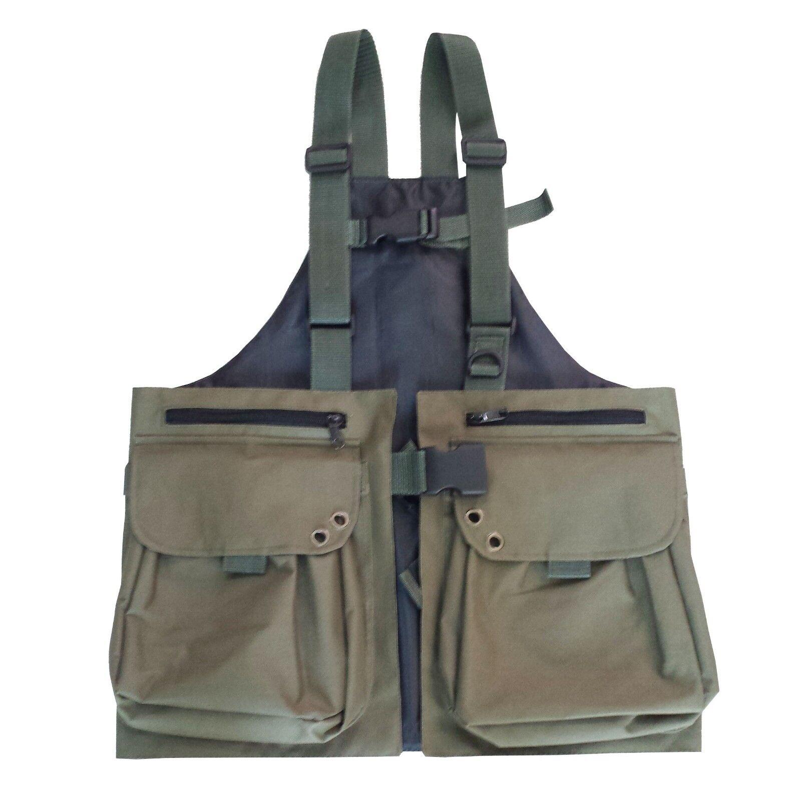 Falconry Vest, Hunting, Shooting, Hawking, Bird Handling Cordura Vest, M,L,XL