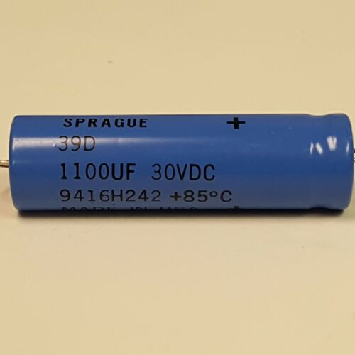 30Vdc Spague 39D Capacitor 1100uF 9416H242