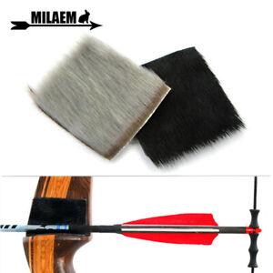 1pcs-Arrow-Rest-Fur-Seal-Skin-Self-adhesive-Stick-Traditional-Recurve-Longbow