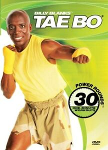 Billy Blanks Tae Bo 30 Power Rounds One Minute Workouts DVD