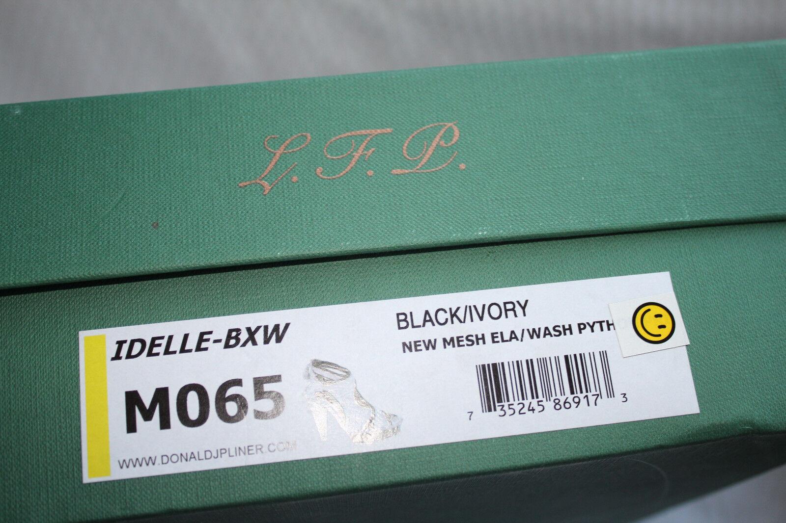 DONALD J PLINER PLINER PLINER IDELLE BLACK BASIC ELASTIC #6.5 360 f75824